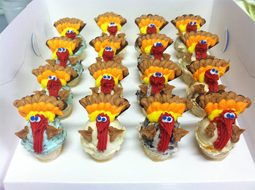 Mini Turkey Cake